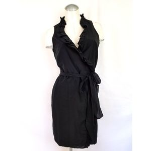 Ann Taylor LOFT size 10P Black Mock Dress